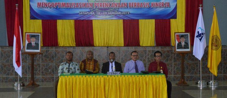 Rapat Kerja Universitas Cenderawasih Tahun 2019