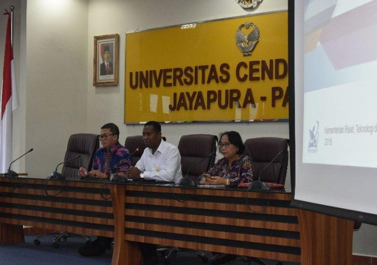 Tim Monev Kementerian Riset, Teknologi, dan Pendidikan Tinggi Berkunjung ke Universitas Cenderawasih