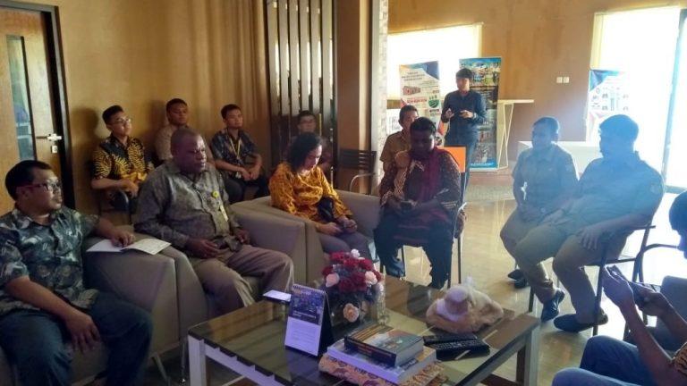 Studi Banding Bagian Perencanaan dan Sistem Informasi (BAPSIK) Universitas Cenderawasih  ke UPT. Pusdalisbang Provinsi Papua